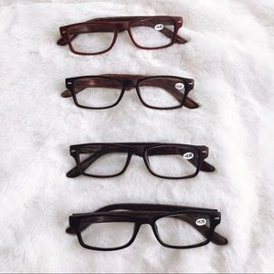 Ava Wood Reading Glasses
